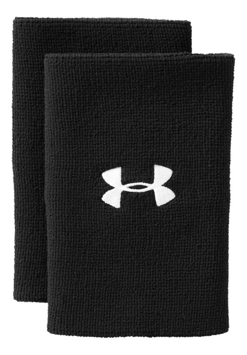 Under Armour 6 Inch Performance Wristband Handwear - Black/White