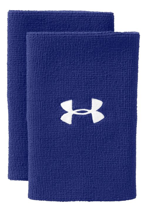 Under Armour 6 Inch Performance Wristband Handwear - Royal/White