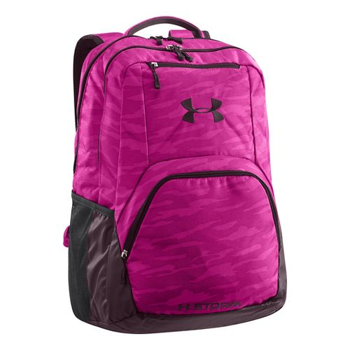 Womens Under Armour Exerter Backpack Bags - Magenta Shock/Lavender Ice