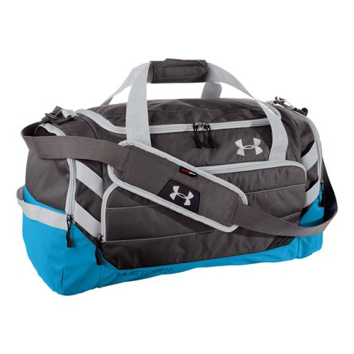 Under Armour Camden MD Duffel Bags - Charcoal/Electric Blue