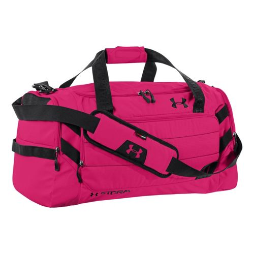 Under Armour Camden MD Duffel Bags - Exuberant Pink/Black