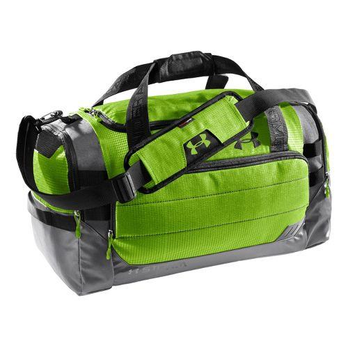 Under Armour Camden MD Duffel Bags - Hyper Green/Graphite