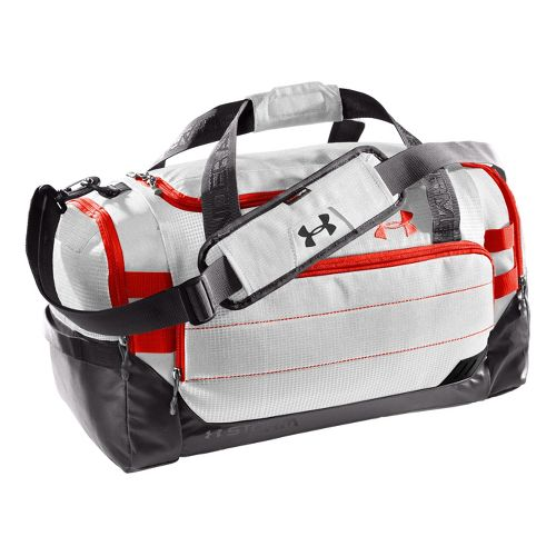 Under Armour Camden MD Duffel Bags - White/Charcoal