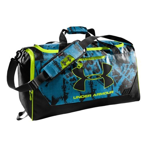 Under Armour Hustle MD Duffel Bags - Electric Blue/Electric Blue