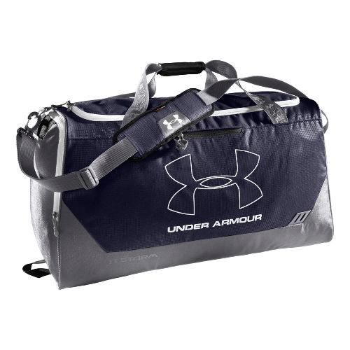 Under Armour Hustle LG Duffel Bags - Midnight Navy/Graphite