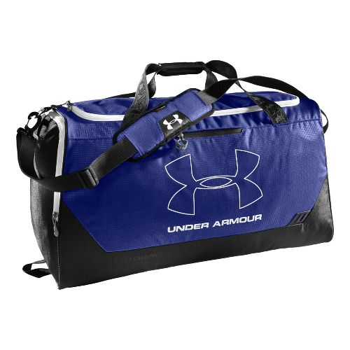 Under Armour Hustle LG Duffel Bags - Royal/Black