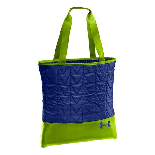 Womens Under Armour Define Tote Bags - Blu-Away/Hyper Green