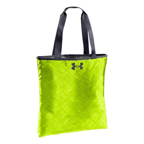 Womens Under Armour Define Tote Bags - Lead/Hi-Viz Yellow