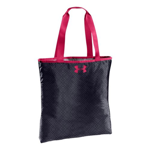 Womens Under Armour Define Tote Bags - Lead/Pinkadelic