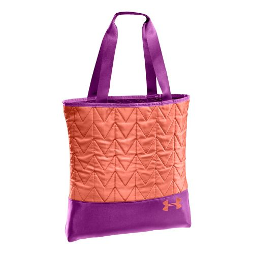 Womens Under Armour Define Tote Bags - Strobe/Pinkadelic