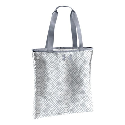 Womens Under Armour Define Tote Bags - White/Steel