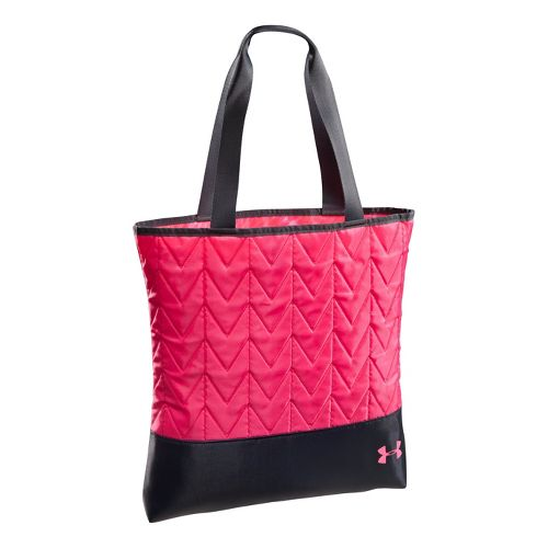 Womens Under Armour Define Pip Tote Bags - Cerise/Lead
