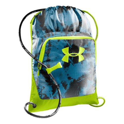 Under Armour Exeter Sackpack Bags - Electric Blue/Hi-Viz Yellow
