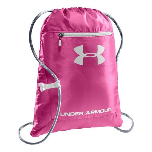 Under Armour Hustle Sackpack Bags - Chaos/Black