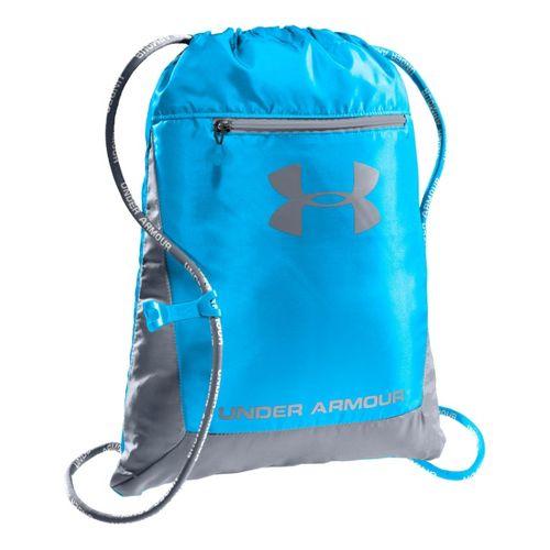 Under Armour Hustle Sackpack Bags - Electric Blue/Steel