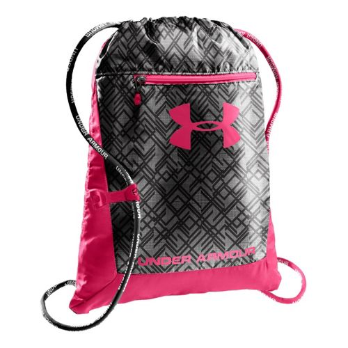 Under Armour Hustle Sackpack Bags - Exuberant Pink/Black