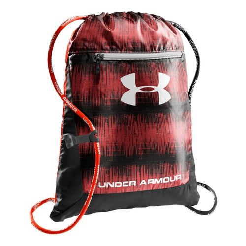 Under Armour Hustle Sackpack Bags - Noise/Black