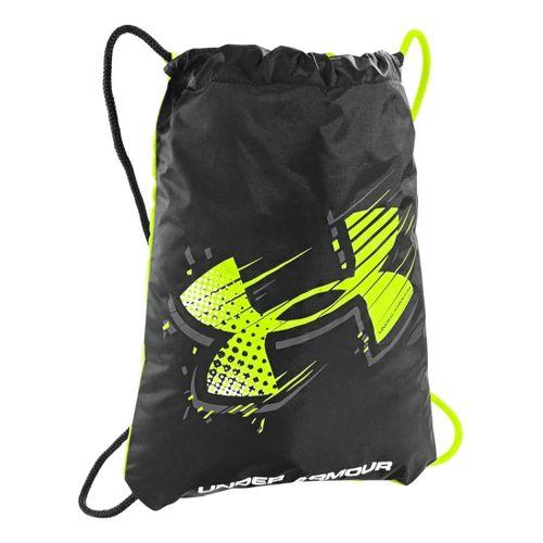 Under Armour Ozzie G Sackpack Bags - Black/Hi-Viz Yellow