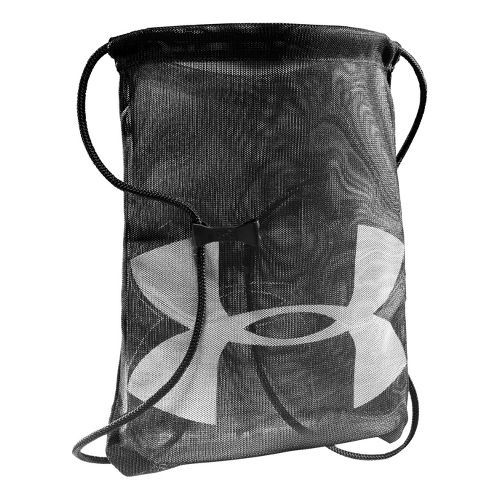 Under Armour Mesh Sackpack Bags - Black/White