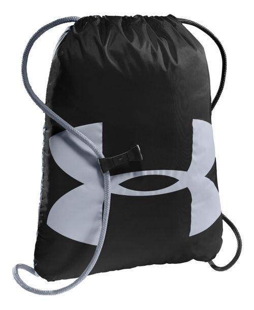 Under Armour Ozzie Sackpack Bags - Black/Steel