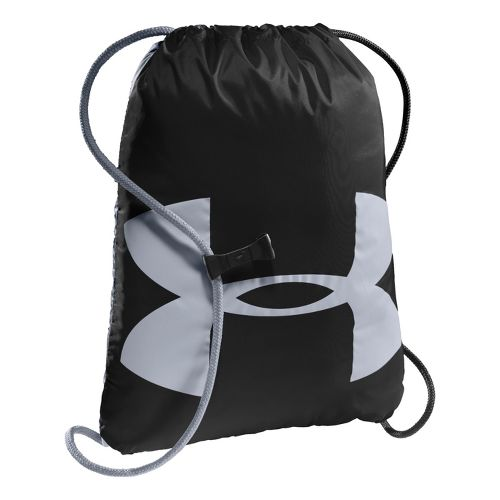 Under Armour Ozzie Sackpack Bags - Black/Steel