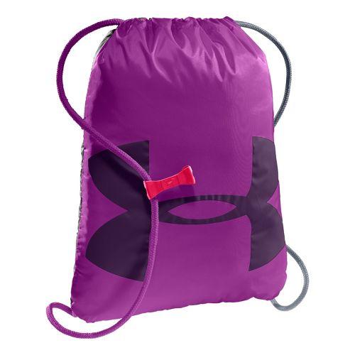 Under Armour Ozzie Sackpack Bags - Strobe/Purple Rain