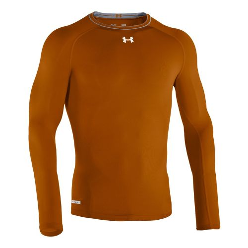Mens Under Armour Heatgear Sonic Compression T Long Sleeve No Zip Technical Tops - Texas ...