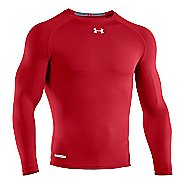Mens Under Armour Heatgear Sonic Compression T Long Sleeve No Zip Technical Tops