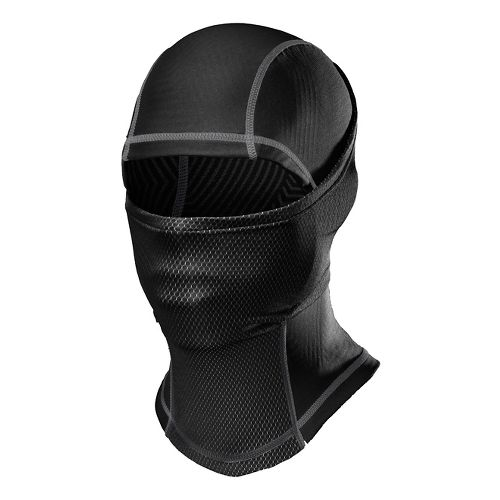 Mens Under Armour ColdGear Infrared Hood Headwear - Black Graphite