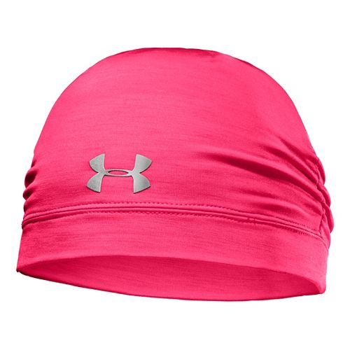 Womens Under Armour ColdGear Infrared Cozy Beanie Headwear - Neo Pulse/Silver
