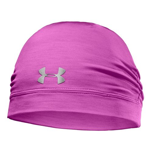 Womens Under Armour ColdGear Infrared Cozy Beanie Headwear - Strobe/Silver