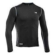 Mens Under Armour Heatgear Sonic Fitted T Long Sleeve No Zip Technical Tops