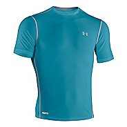 Mens Under Armour Heatgear Sonic Fitted T Short Sleeve Technical Tops