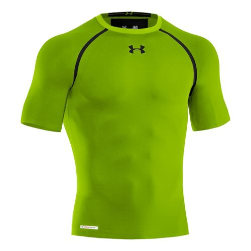 Mens Under Armour Heatgear Dynasty Compression T Short Sleeve Technical Tops - Hyper ...