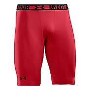 Mens Under Armour HeatGear Sonic Long Compression & Fitted Shorts