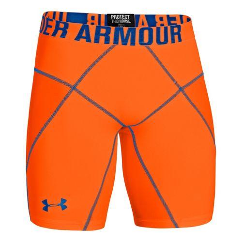 Mens Under Armour Coreshort Prima Fitted Shorts - Blaze Orange XL