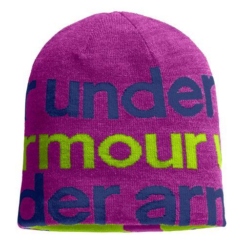 Kids Under Armour Switch It Up II Beanie Headwear - Strobe/Hyper Green