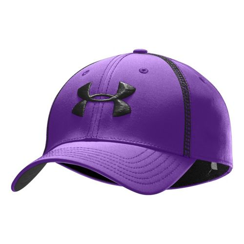 Mens Under Armour Huddle II Stretch Fit Cap Headwear - Pride/Black L/XL