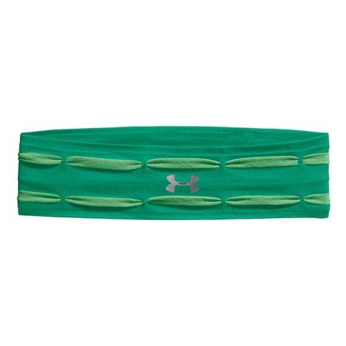 Womens Under Armour Perfect Headband Headwear - Emerald Lake