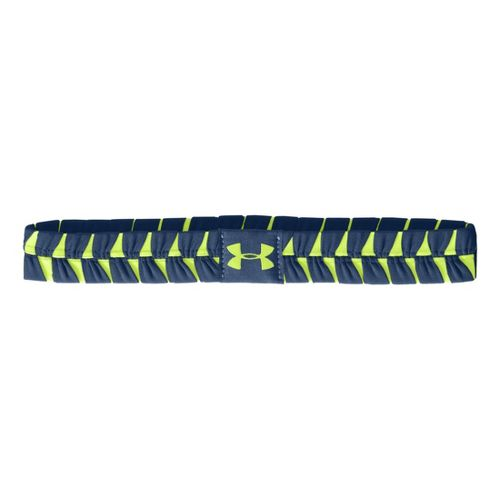 Womens Under Armour Eliptic Headband Headwear - Indigo/X-Ray