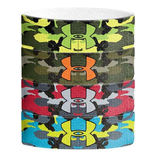 Mens Under Armour Graphic Wristbands Handwear - Hyper Green/Rough