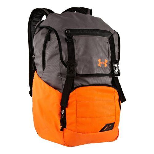 Under Armour Ruckus Backpack Bags - Blaze Orange/Graphite