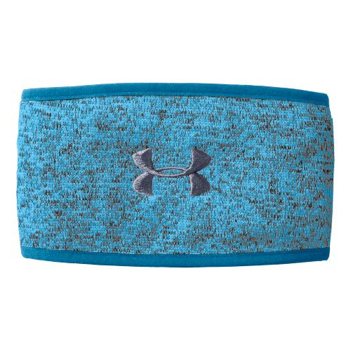 Womens Under Armour Rally Headband Headwear - Crown Jewel/Elemental