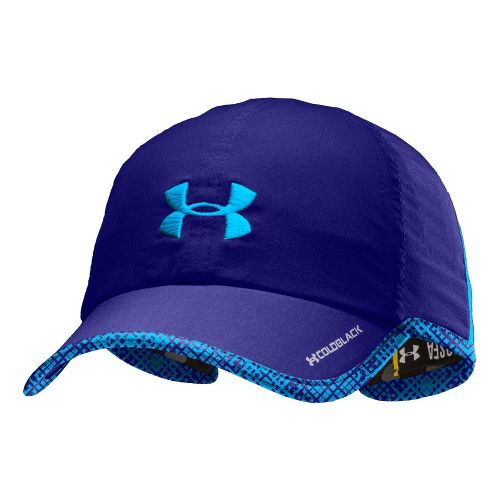 Womens Under Armour Shadow Cap Headwear - Caspian/Electric Blue