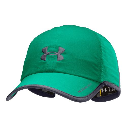 Womens Under Armour Shadow Cap Headwear - Emerald Lake/Lead