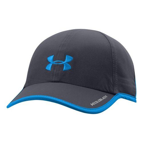 Womens Under Armour Shadow Cap Headwear - Lead/Electric Blue
