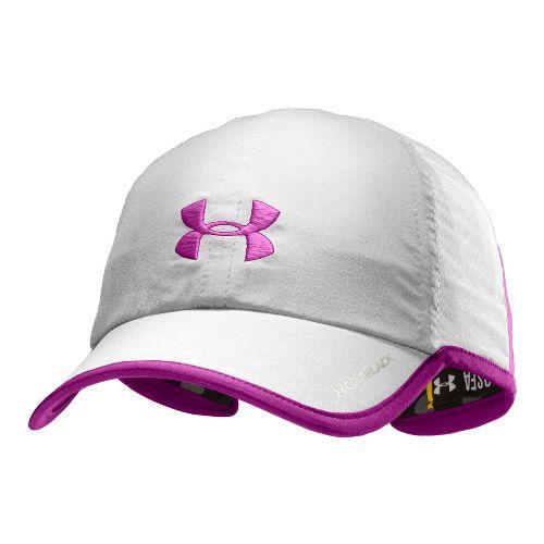 Womens Under Armour Shadow Cap Headwear - White/Strobe