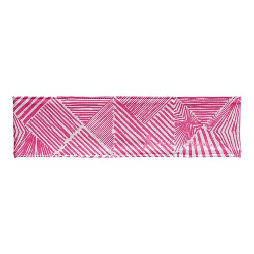 Womens Under Armour PIP She's A Fighter Headband Headwear - Cerise/White