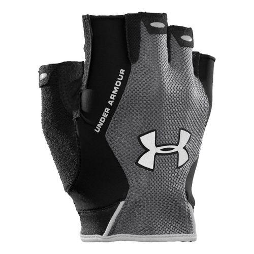Mens Under Armour CTR Trainer HF Glove Handwear - Black/Black L