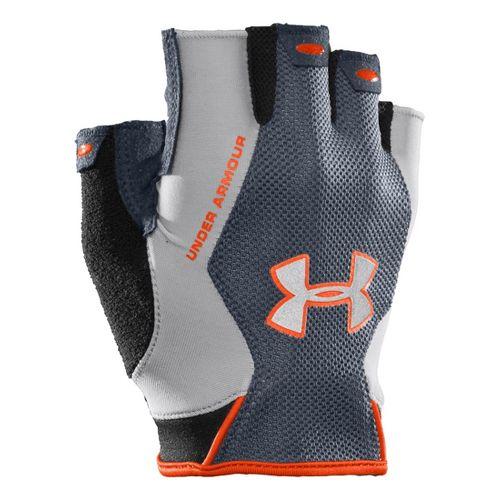 Mens Under Armour CTR Trainer HF Glove Handwear - Steel/Graphite S